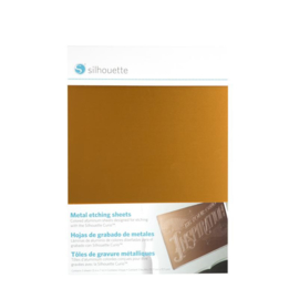 Metalen Ets / Graveer Vellen  - 3 kleuren