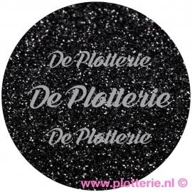 Zwart - Pearl Glitter Flex