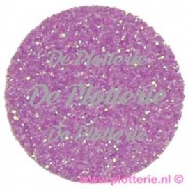 Fluor Paars - Glitter Flex