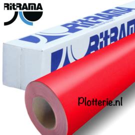 Rood - Ritrama Fluor Vinyl - 30cm * 1m