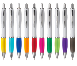 Balpen - in 10 kleuren leverbaar