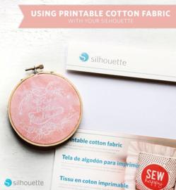 Printbaar Cotton Fabric (Katoen Stof) - 8 vellen
