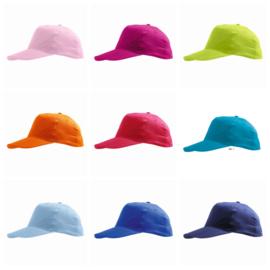 Kinder Caps (petjes) - in 13 kleuren leverbaar