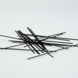 Zwarte Geurstokjes - 15 cm lang - 10 stuks