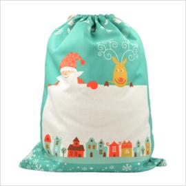 Sublimatie Kerst Zak | 30cm x 40cm | Groen