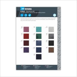 Ritrama 640 Glitter Serie Kleurenkaart