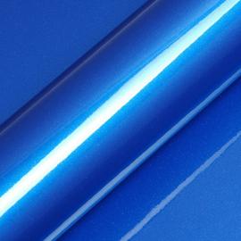 Midden Blauw Glans - Glitter Vinyl - A4 formaat - 21*30cm