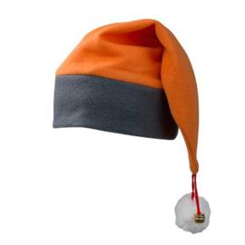 Kerstmuts Oranje - Antraciet