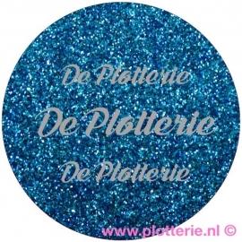 Blauw - Pearl Glitter Flex