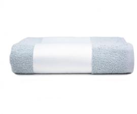 Handdoek (oa voor Sublimatie) - Licht Grijs - 50 * 100cm