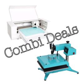 Combi Deal: Silhouette Curio & Zwenk Arm Transferpers 38*38cm