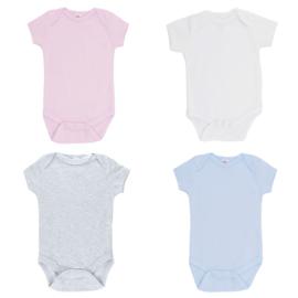 Baby Rompertje - in 4 kleuren en 2 maten leverbaar