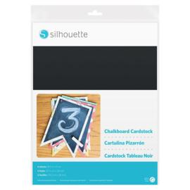 Krijtbord Zelfklevend Karton (Chalkboard Cardstock) - 6 vellen