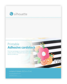Printbaar Zelfklevend Cardstock (Karton) - 8 vellen