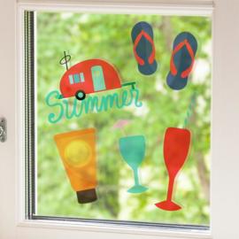 Printbaar Window Cling (Statische Raamfolie) - Transparant - 5 vellen