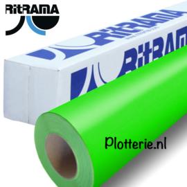 Groen - Ritrama Fluor Vinyl - 30cm * 1m