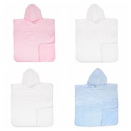 Baby Poncho  - in 3 kleuren leverbaar