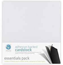 Zelfklevend Karton (Adhesive-backed Cardstock) - 16 vellen