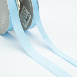 Satijn lint - Rol 25m * 10 mm - Licht Blauw