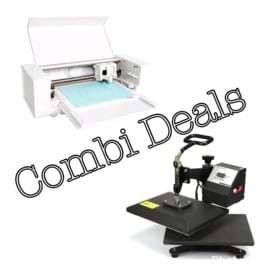 Combi Deal: Silhouette Curio & Mini Zwenk Transferpers 23*30cm