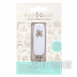 We R Memory Keepers - Foil Quill USB Art - Flower