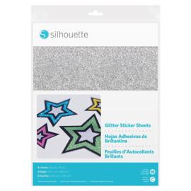 Glitter Sticker Vellen - 8 vellen