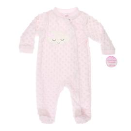 Baby Slaappakje met noppen 'Wolk' | Roze