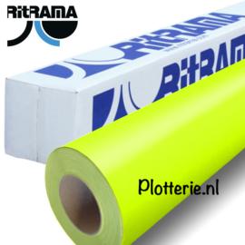Geel - Ritrama Fluor Vinyl - 30cm * 1m