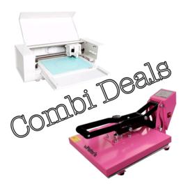 Combi Deal: Silhouette Curio & Vlakke Transferpers 38*38cm