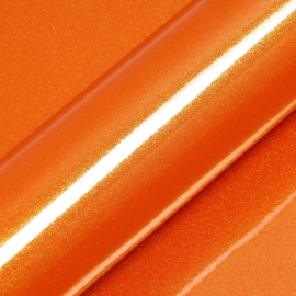 Oranje Glans - Glitter Vinyl - A4 formaat - 21*30cm