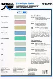 Ritrama Glass Etch Serie Kleurenkaart