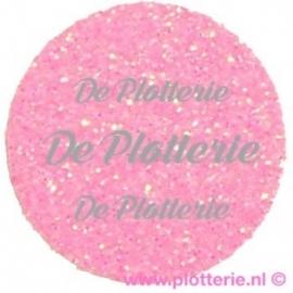 Fluor Roze - Glitter Flex