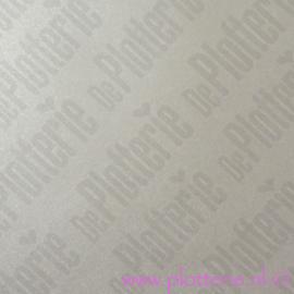 Glas Etch Raamfolie - Frosted Donker Zilver - 30cm*1m