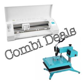 Combi Deal: Zwarte Silhouette Cameo 3  & Zwenk Arm Transferpers 38*38cm