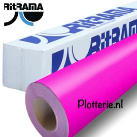 Roze - Ritrama Fluor Vinyl - 30cm * 1m