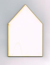 Houten Huisje van 10 * 15 cm - Populierenhout 4 mm