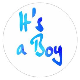 """Sluitzegel """"It's a Boy"""""""