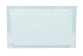 Sublimatie Glazen Naambord | 30cm * 16cm * 5mm