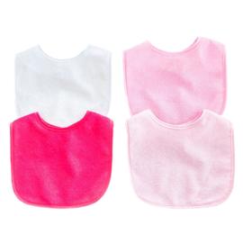Slab in roze assorti kleuren - Set van 4 stuks