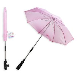 Verstelbare Paraplu voor de Wandelwagen - Licht Roze