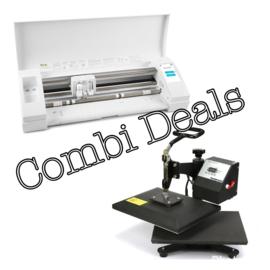 Combi Deal: Zwarte Silhouette Cameo & Mini Zwenk Transferpers 23*30cm