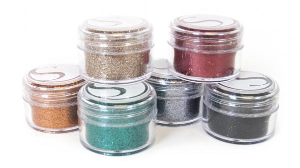 Glitter - Bold - 6 potjes