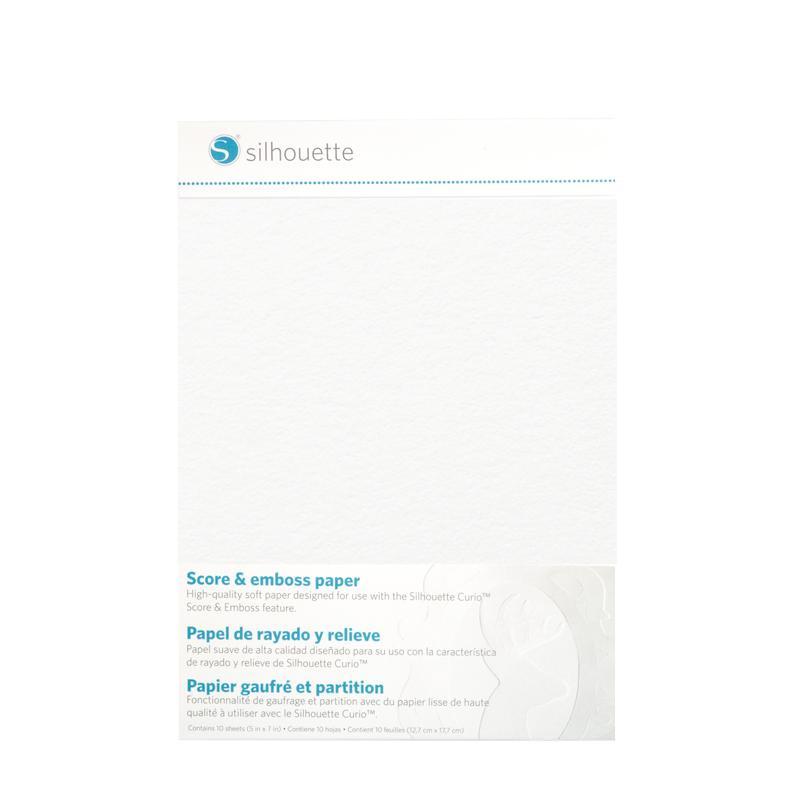 Score & Emboss Paper (12,7 * 17,7cm) - 10 vellen