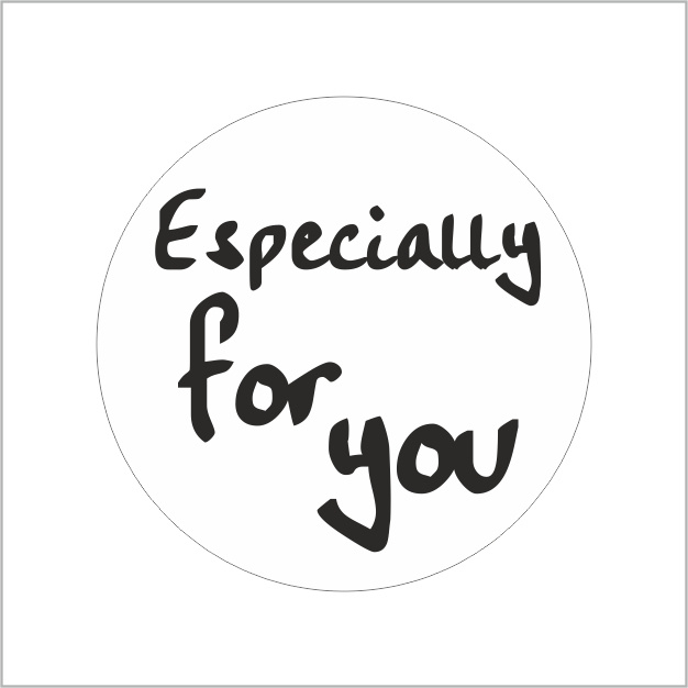 "Sluitzegel ""Especially for You"""