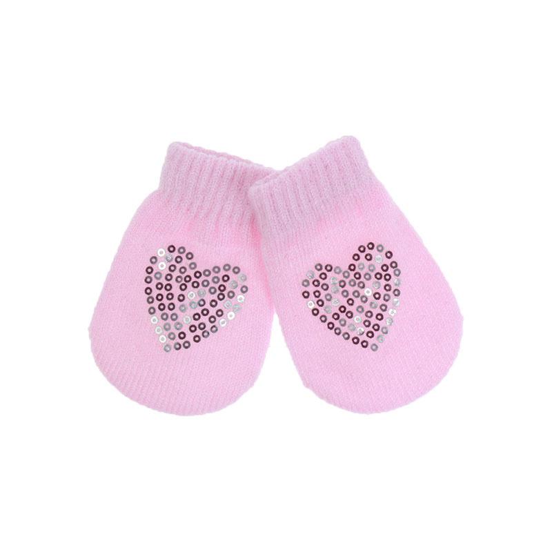 Babywantjes met Pailletten - Roze