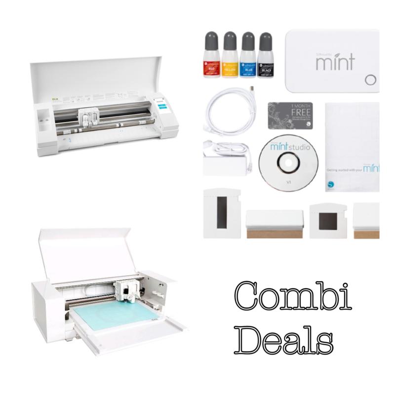 Combi Deal: Silhouette Cameo & Curio & Mint