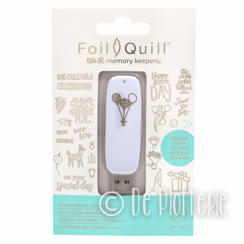 We R Memory Keepers - Foil Quill USB Art - Celebration