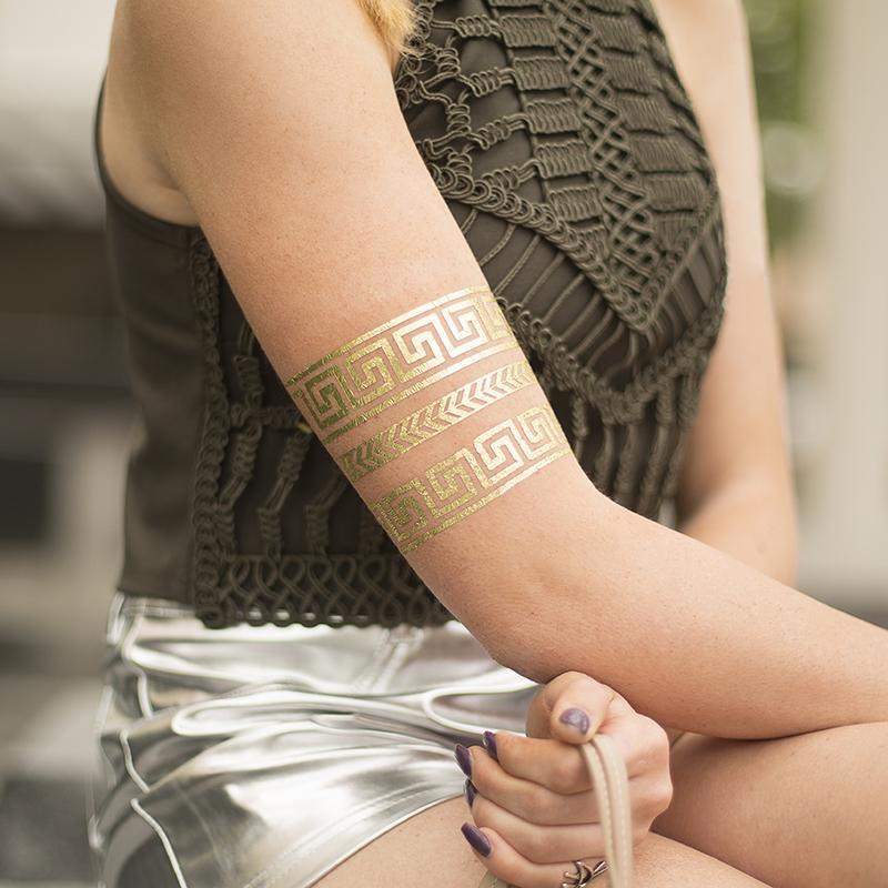 Tattoo Papier Goud 2 Vellen Speciale Media De Plotterie