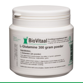 Biovitaal - L-Glutamine 300 gram poeder