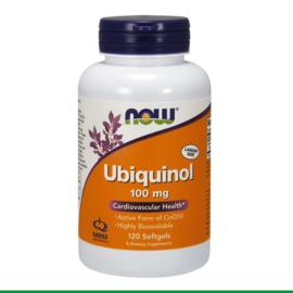 NOW - Ubiquinol 100mg | 120 softgels